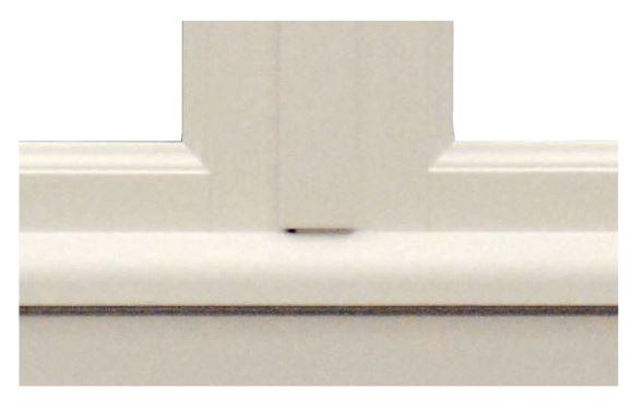 con gocciolatoio esterno in alluminio ricoperto in legno