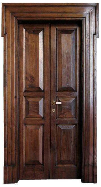 Porta in castagno Art. 1103